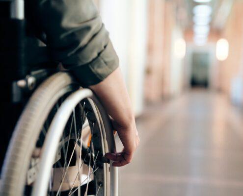 hulpmiddel rolstoel